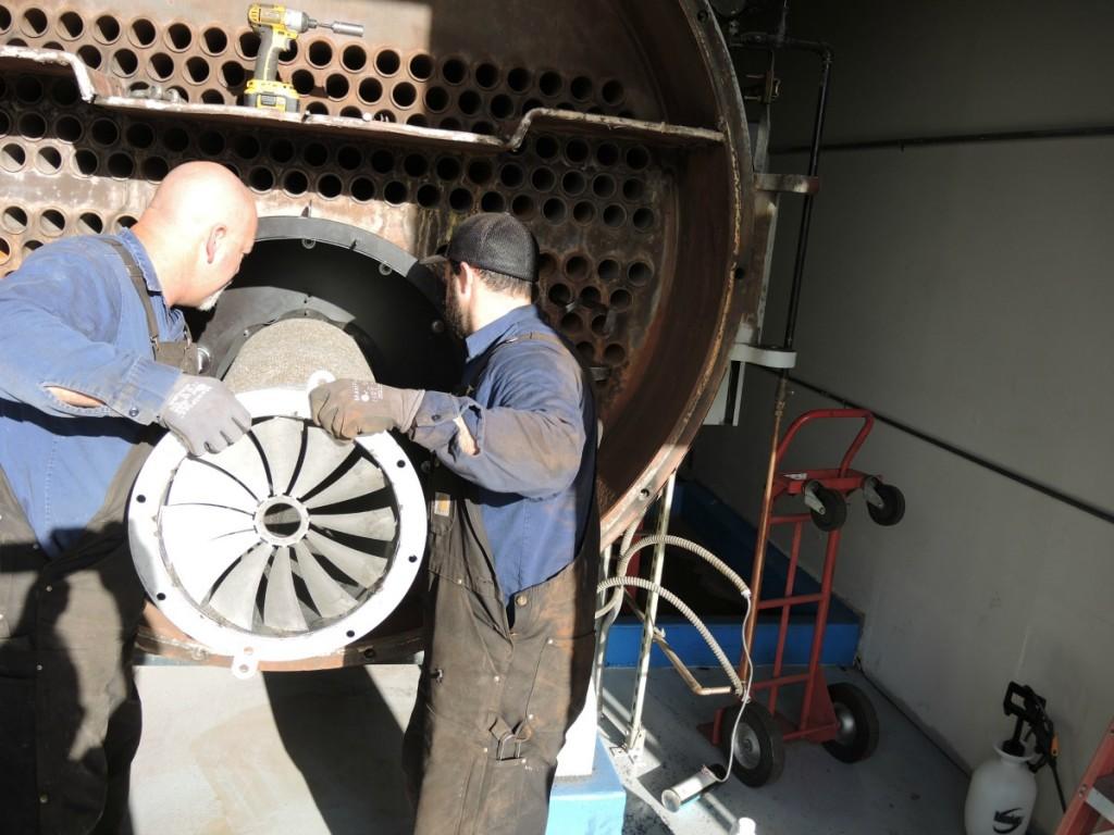 County Of Santa Clara Gsa Building San Jose Boiler Works